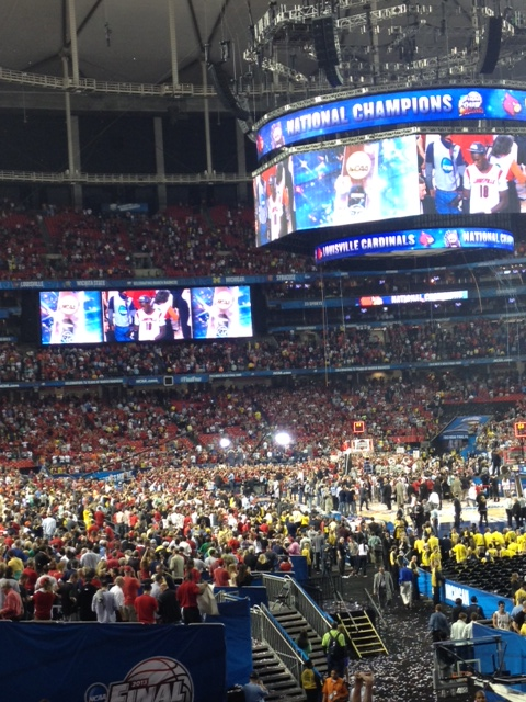 NCAA National Championship Game Ceebration