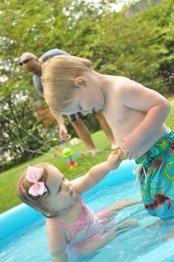 Kiddie Pool Time