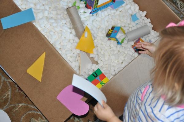 Home Spun Fun: Big Box Scavenger Hunt