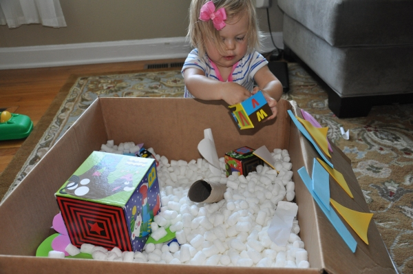 Home Spun Fun: Big Box Scavenger Hunt