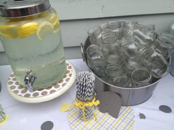 Little Peanut Shower Drink Table