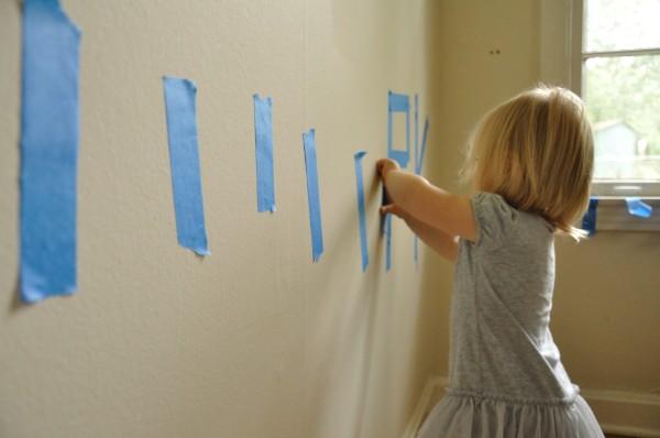 Home Spun Fun: Paint Tape