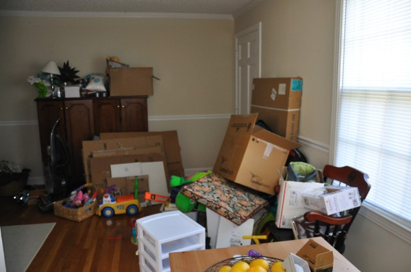 The chaos that is my house
