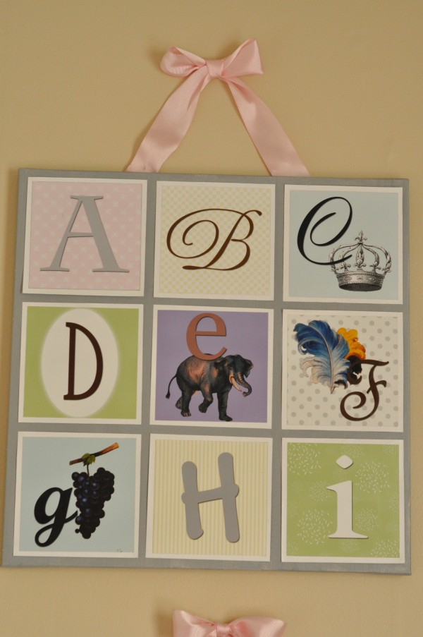 ABC Nursery Artwork