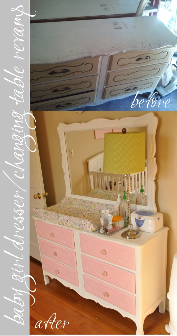 Dresser/Changing Table Revamp