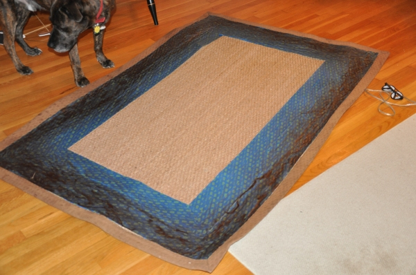 My Comical DIY Rug Redo