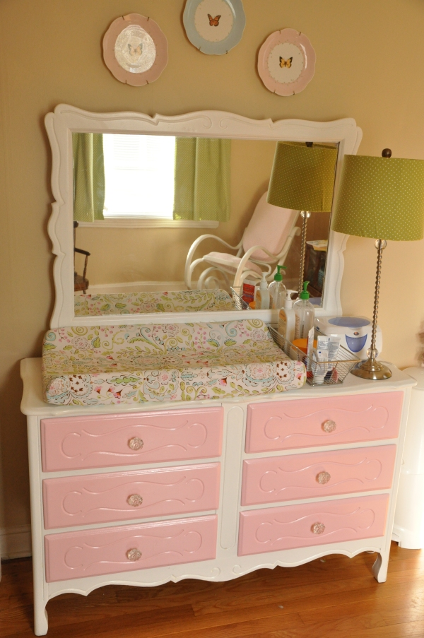 Dresser/Changing Table Revamp - After