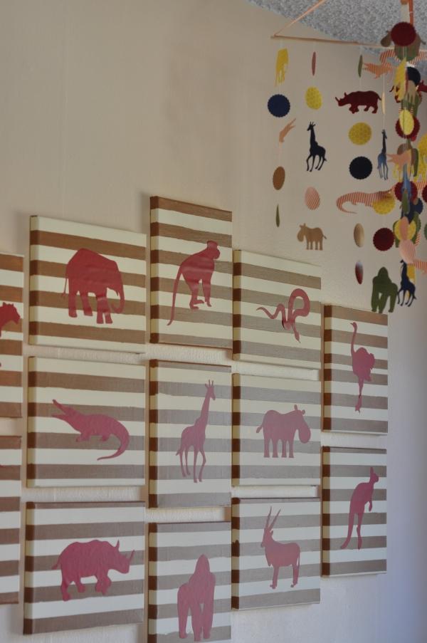 Animal Themed Baby Boy Nursery