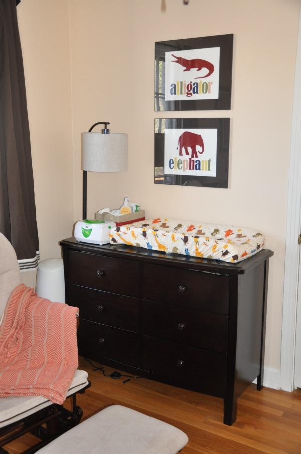 Animal Themed Baby Boy Nursery