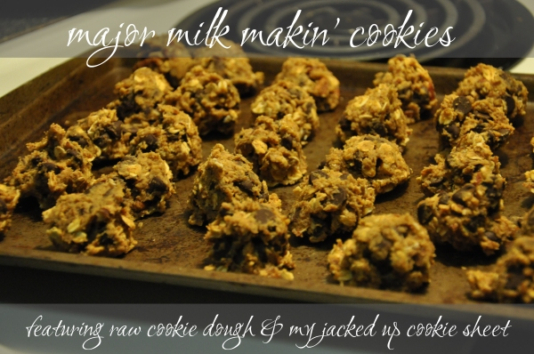 Major Milk Makin' Cookies Recipe