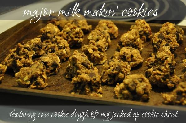 Major Milk Makin' Cookies Recipe