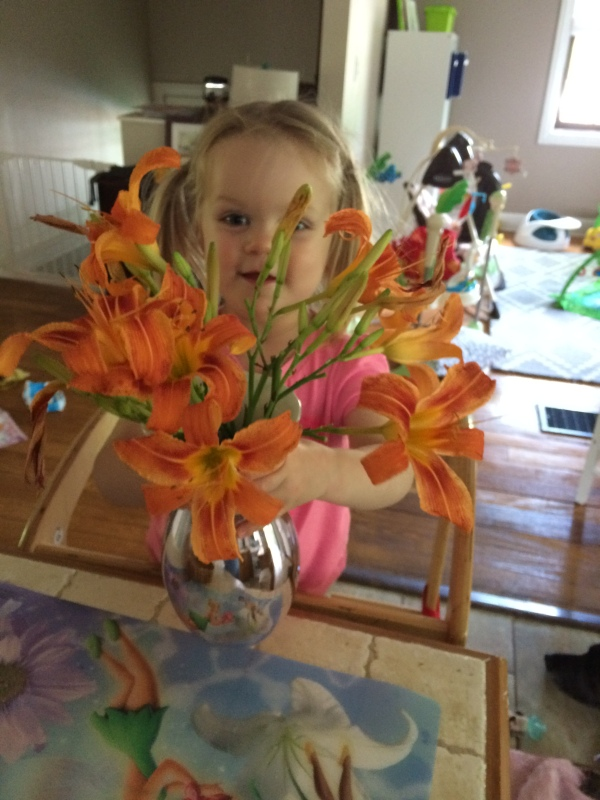 Home Spun Fun: Flower Play
